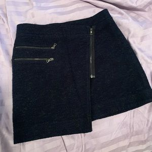 BCBGMaxazria Navy Blue Skirt